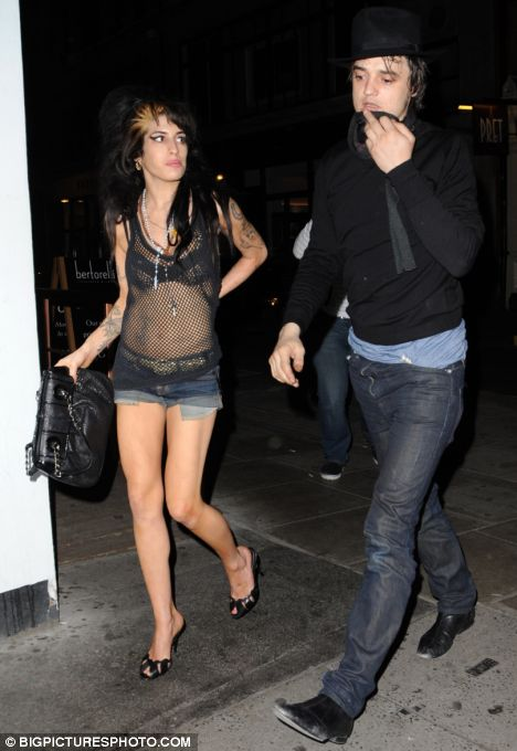 Pete Doherty Amy Winehouse Chelsea boot