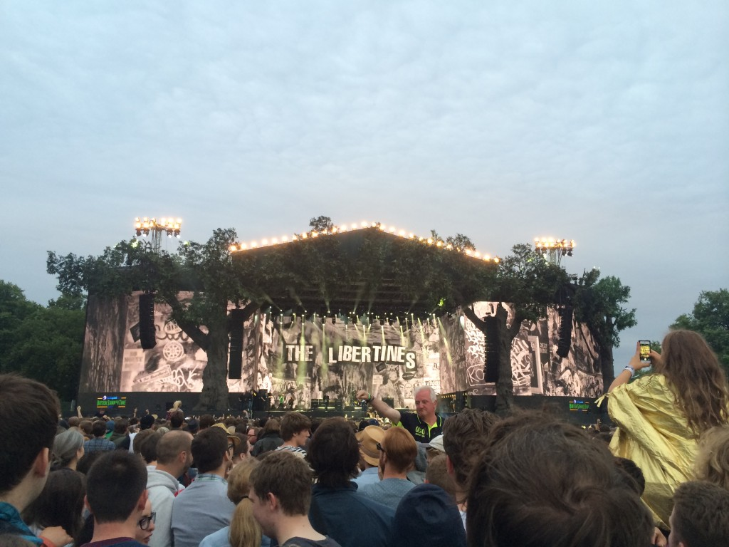 The Libertines hyde park